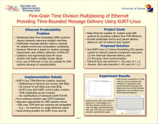 Fine-Grain Time Division Multiplexing of Ethernet
