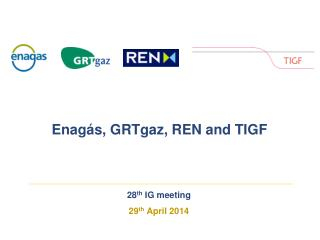 28 th  IG  meeting 29 th  April 2014