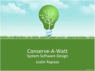 Conserve-A-Watt