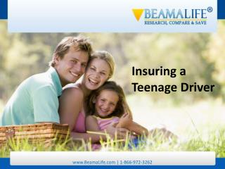 Insuring a Teenage Driver