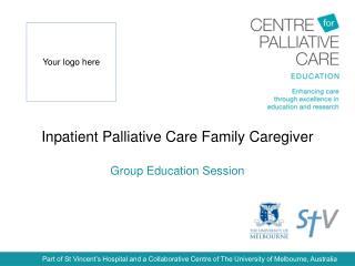 Inpatient Palliative Care Family Caregiver