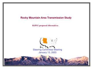 Rocky Mountain Area Transmission Study