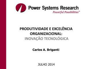 PRODUTIVIDADE E EXCELÊNCIA ORGANIZACIONAL: INOVAÇÃO TECNOLÓGICA