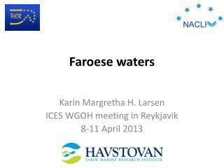 Faroese waters