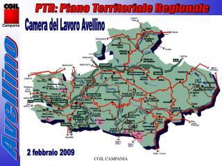 PTR: Piano Territoriale Regionale