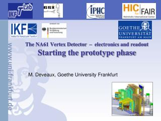The NA61 Vertex Detector  –  electronics and readout Starting the prototype phase
