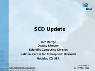 SCD Update