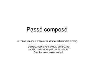 Pass� compos�