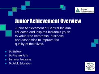 Junior Achievement Overview