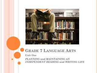 Grade 7 Language Arts