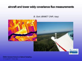 aircraft and tower eddy covariance flux measurements