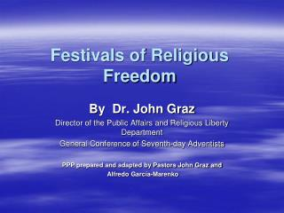 Festivals of Religious Freedom