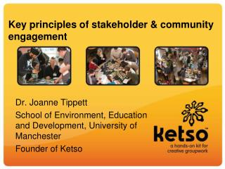 Key principles of stakeholder & community engagement