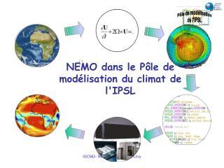 NEMO dans le Pôle de modélisation du climat de l'IPSL