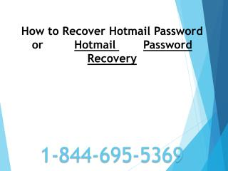 1-844-695-5369|Hotmail Tech support contact Number USA and C
