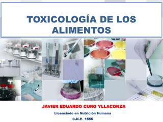TOXICOLOG�A DE LOS ALIMENTOS