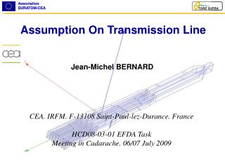Assumption  On Transmission Line