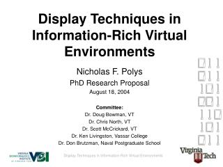 Display Techniques in Information-Rich Virtual Environments