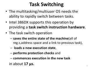 Task Switching