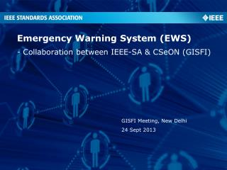 Emergency Warning System (EWS)