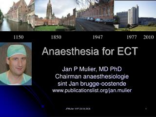 Anaesthesia for ECT