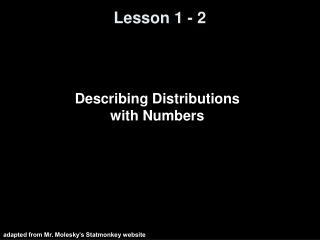 Lesson 1 - 2