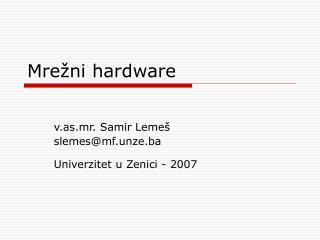Mrežni hardware