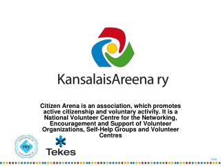 A national network of volunteer and self-help actors