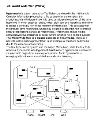 20. World Wide Web (WWW)