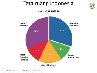 Tata ruang Indonesia