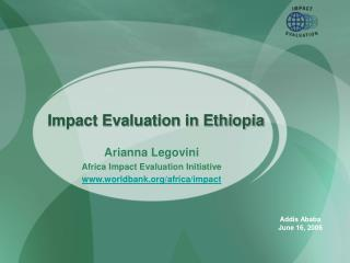 Impact Evaluation in Ethiopia