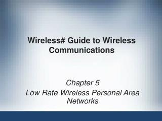 Wireless# Guide to Wireless Communications
