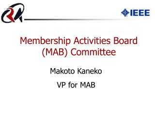 Membership Activities Board  (MAB)  Committee