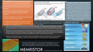 Memristor  – A nonvolatile storage solution