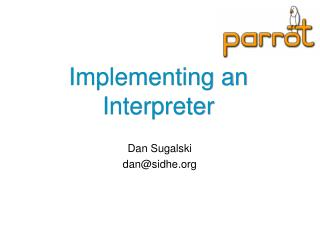 Implementing an Interpreter