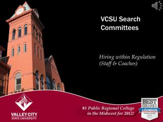 VCSU Search Committees