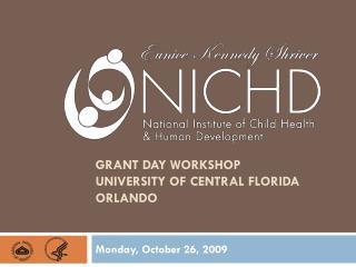 Grant day workshop university of Central Florida Orlando