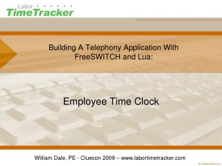 Building A Telephony Application With FreeSWITCH and Lua: