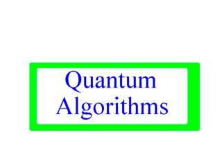 6 q algorithm
