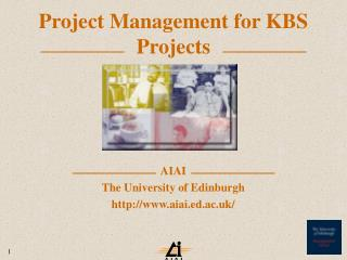 Project Management for KBS Projects