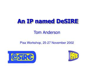An IP named DeSIRE