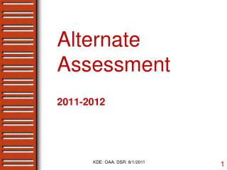 Alternate Assessment
