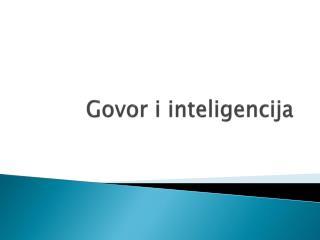 Govor i inteligencija