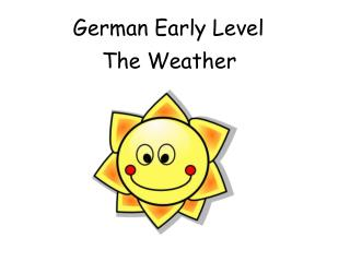 German Early Level