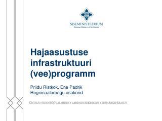 Hajaasustuse infrastruktuuri (vee)programm