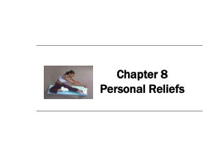 Chapter 8 Personal Reliefs
