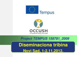 Diseminaciona tribina Novi Sad, 1-2.11.2012.