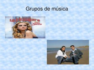 Grupos de música