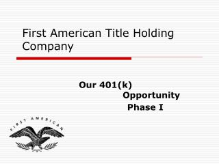 First American Title Holding Company
