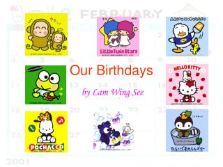 Our Birthdays